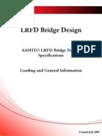 AASTHO LRFD BRIDGE DESIGN SPECIFICATIONS