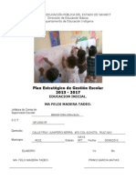 PLAN ESTRATÉGICO formato 2013 -2017 Jefatura