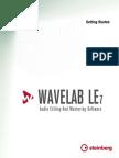 Wavelab 7 Getting Started