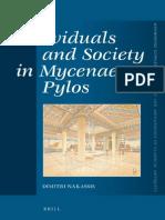Individuals and Society in Mycenaean Pylos