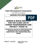Clark Development Corporation BD-Power Transmission Line - Phase 3A