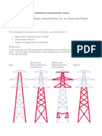 79 - Creating Beam Idealizations for an Electrical Power Transmission Pylon