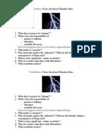 1-Frankenstein Focus Questions