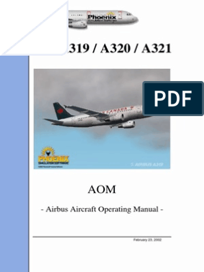 Airbus A320 Aircraft Operation Manual   Landing Gear   Takeoff on