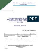 Ps 04 Prevederi Legale Si Alte Cerinte Ed 2