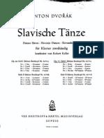 Dvorak (Arr Keller) Slavonic Dances Op72 Book1