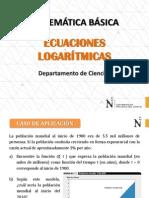 S9-Ecuaciones Logarítmicas y Aplicaciones