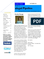 October 2013 Edition of the Paralegal Pipeline