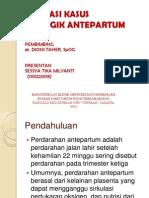 hemoragik antepartum