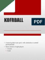 Korfball Final