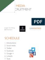 Maximising LINKEDIN & Social Media for Your Brand JORGEN SUNDBERG