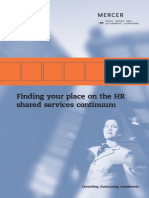 Finding Your Place on HR Shared Services