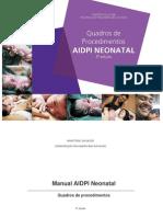 Manual Aidpi Neonatal Quadro Procedimentos 3ed 2012