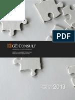 GEC Company Profile 2013