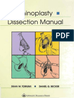 Rhinoplasty Dissection Manual