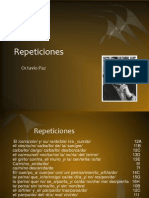 Repeticiones, Octavia Paz
