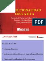Institucionalidad Educativa
