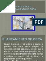 Planeamiento de Obras 15.11.12