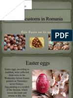 Easter Customs in Romania