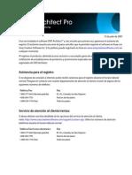 Dvdarchitectpro45 Qsg Esp