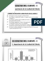 ITESM - Modelos Decisionales 09 - Lealtad, Medición