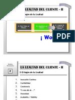 ITESM - Modelos Decisionales 10a - Lealtad, Tácticas