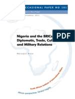 Nigeria and the BRICs