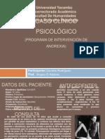 Caso Clinico Psicologico Anorexia