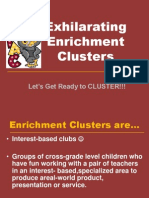 fall cluster launch