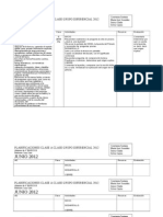 Planificaciones Clase a Clase Grupo Diferencial 2012_cuarto b