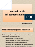 Base de datos- Normalización