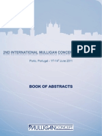 Book of Abstracts Mulligan MCTA Porto Conference 2011
