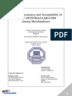 SIP Final Report - GETIT INFOMEDIA  Pvt. Ltd.