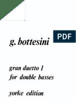 Giovanni Bottesini - Gran Duetto for Double Basses No.1 (Ed. Slatford)
