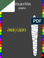Jesus and Lazarus Spanish