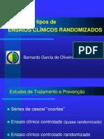 Historico Tipos Ensaio Clinico Randomizado
