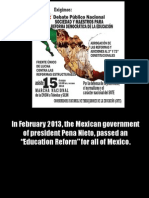 Mexico Teacher Struggle Slideshow