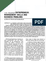 women enterpreneurs- management skills and business problems