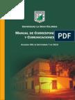 Manual de Correspondencia