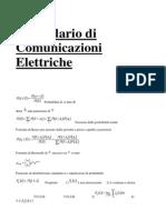 Formulario Di Comunicazioni Elettriche