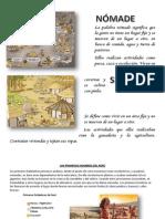 Nomade y Sedentario Peruano