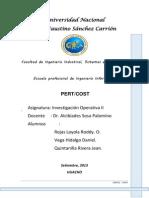 Pert_cost Informe