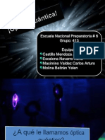Optica Cuantica