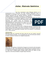 Biolog i a Celular Des Arrollo Historico