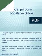 Vode, Prirodno Bogatstvo Srbije