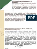 PROTECCIÓN CON  NEUTRO  CONECTADO  A TIERRA  ATRAVÉS  DE