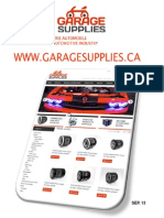 Garage Supplies Catalog