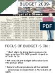Union Budget 2009-10