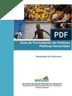 Guia de Formulacion de PP Sectoriales