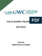 Academic Programme 2012-2013